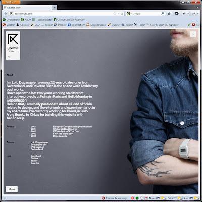 Screen shot of http://reverseburo.com/.