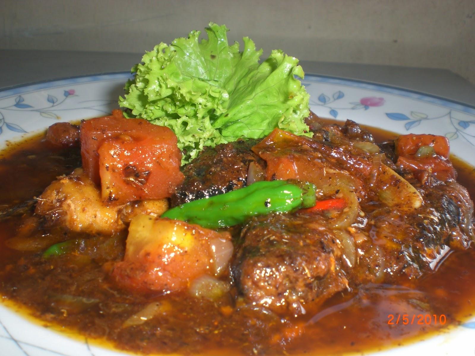 Resep Ikan Goreng Saus Kari
