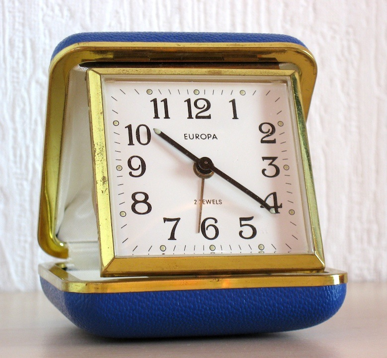 The Hausfrau Journal: Of the essence: travel alarm clocks