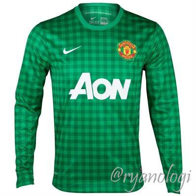 Kostum Terbaru Manchester United 2012/2013