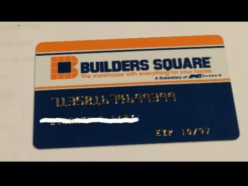 Trip to the mall find builders square credit card for Find builders