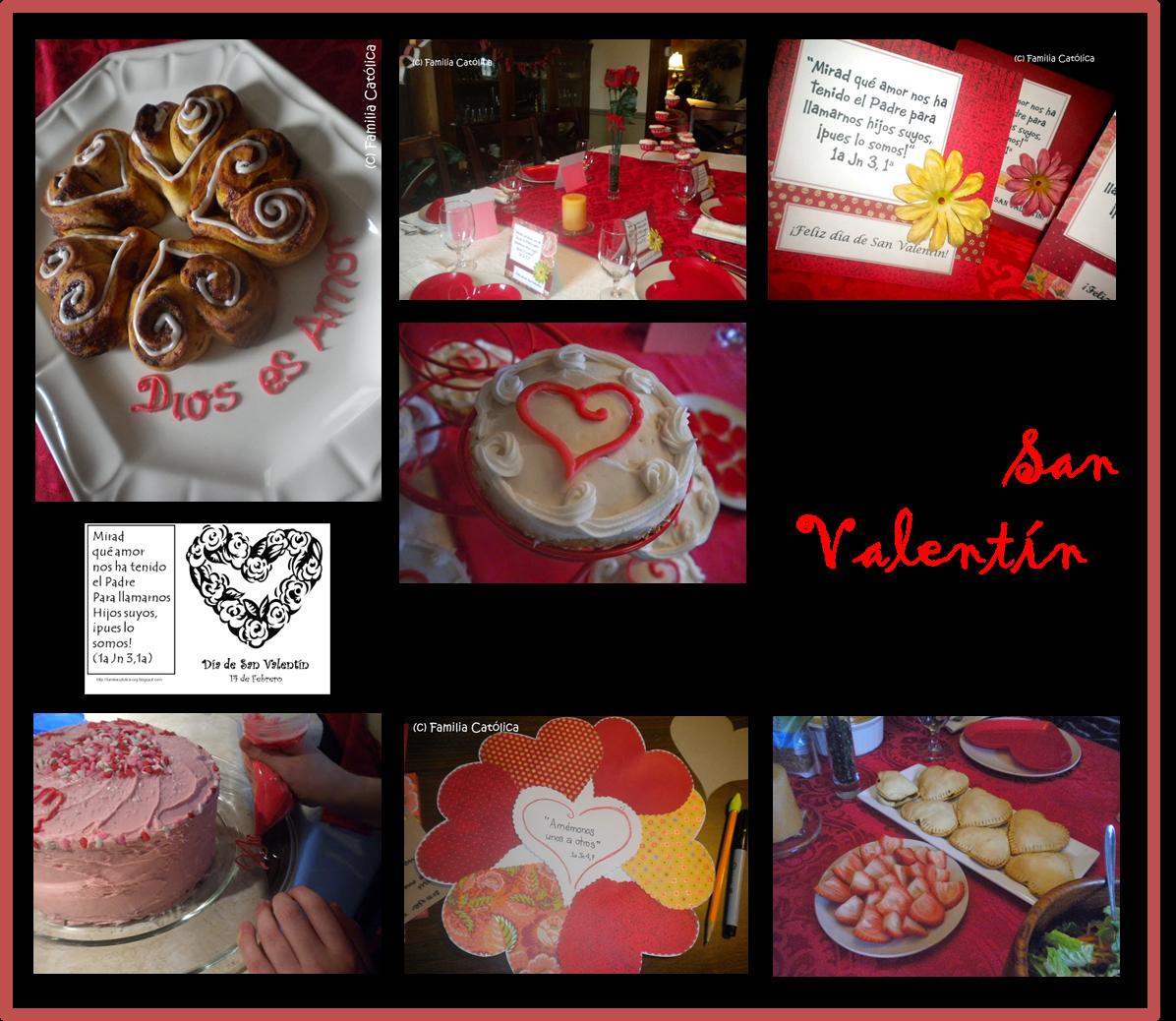San Valentin en familia