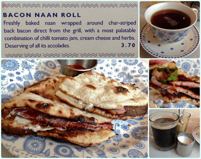 Dishoom - Bacon Naan Roll