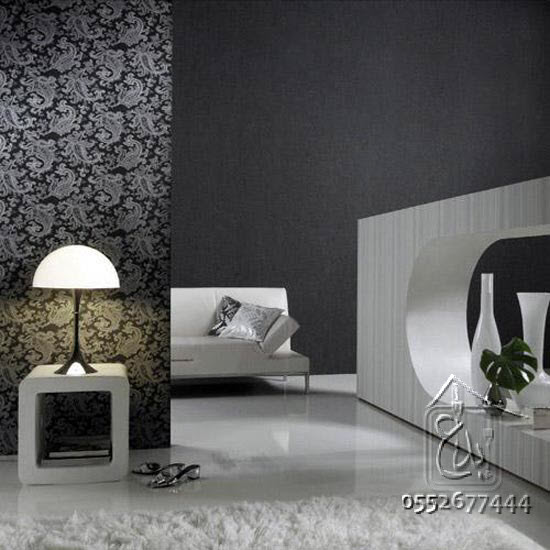 for Interior decoration wallpaper design