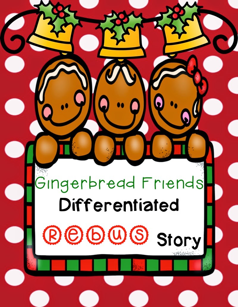 http://www.teacherspayteachers.com/Product/Gingerbread-Friends-Differentiated-Rebus-Story-1578361