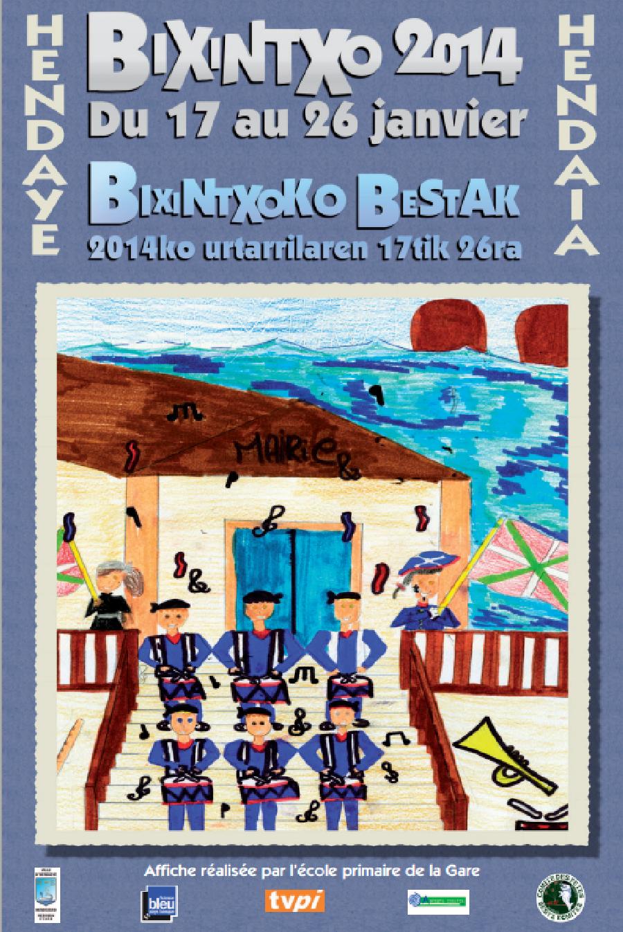 Hendaye : Fêtes de la Bixintxo 2014