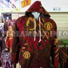 Jaket Batik Bola Manchester United