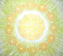 Crista Etérico, representa la unificación de las energías masculina y femenina