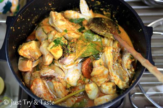 resep kalio ayam padang