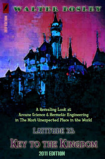 Cover of Latitude 33 showing a dark castle