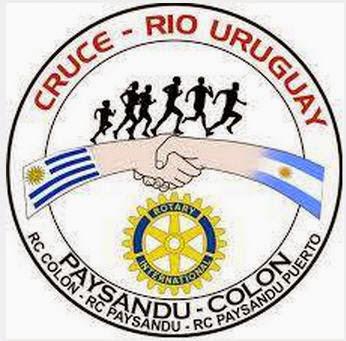 21k 10k y 5k Cruce del río Uruguay (Paysandú - Colón, 22/mar/2015)