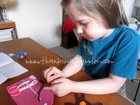 Manhattan Toy sewing kit
