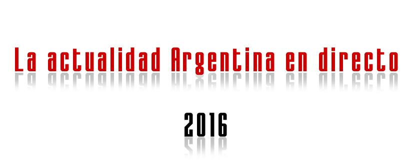 La actualidad Argentina en directo