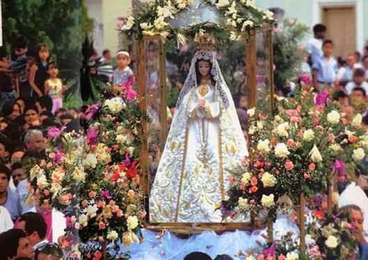 Inicio de las festividades por los 103 años de la Virgen del Valle