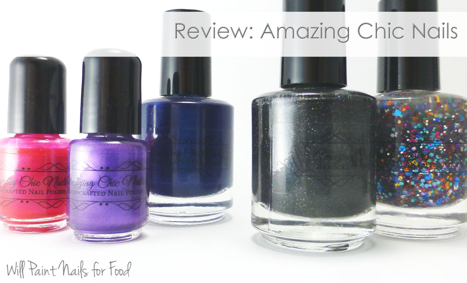 Amazing Chic Nails handcrafted nail polish