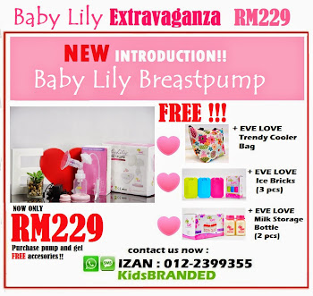 EVE LOVE BABY LILY  EXTRAVAGANZA
