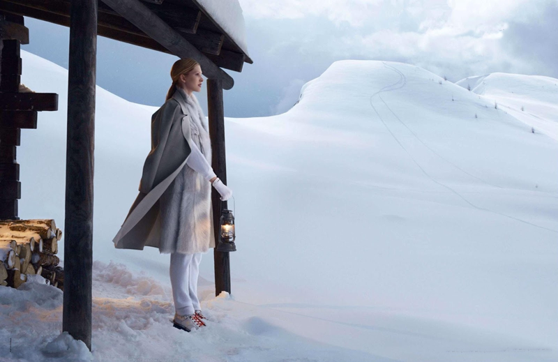 A sporting life! Hermes Autumn/Winter 2013-2014 campaign (photography: Nathaniel Goldberg, styling: Clare Richardson)