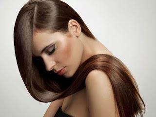 Cara meluruskan rambut alami cepat dan permanen wanita pria