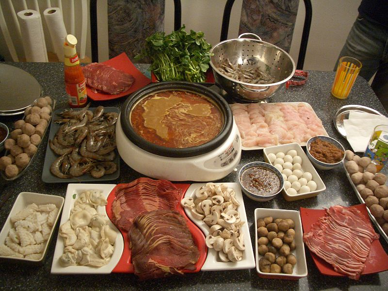 Lets soar with eagles taipei hot pot restaurant for Accompagnement cuisine