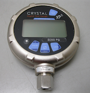 Crystal XP2i Digital Test Gauge. # 0-5000 psi