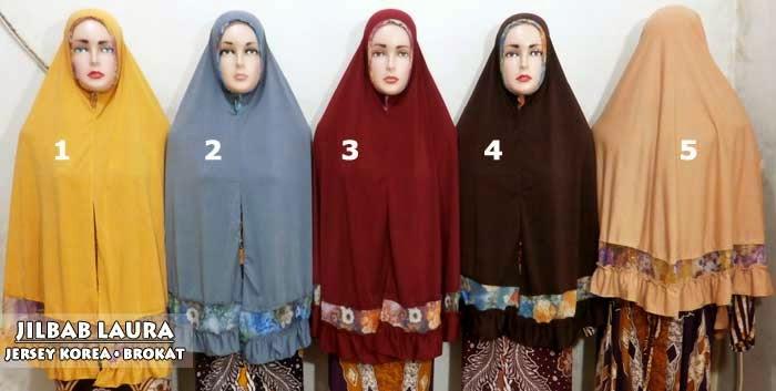 Jilbab syari jumbo jersey korea