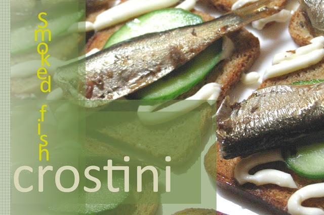 Effortnesslessly: Smoked Fish Crostini