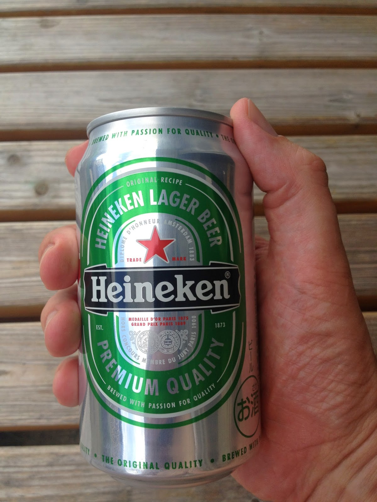 Great Name: Heineken Lager Beer Ingredients: Malt, Hops. Alcohol Content: 5% Tax  Category: Beer Company: Kirin Brewery Origin: Netherlands Amazing Ideas