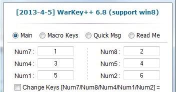 warkey 6.8 for windows 8