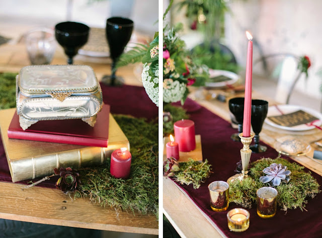 Wedding in Black - editorial bodas Eventos Clandestine - Blog Mi Boda