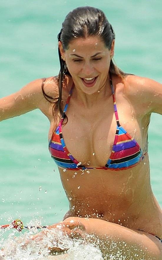 Melissa Satta Nipple Slip