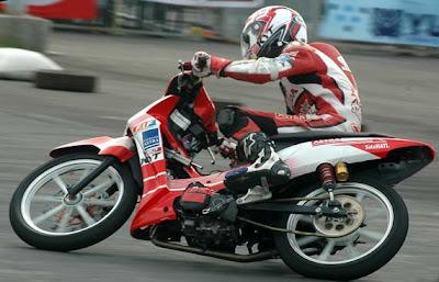 diatas adalah modifikasi honda supra x 125 drag race supra x 125 ...