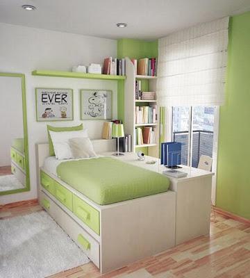 decorar dormitorio pequeño adolescente