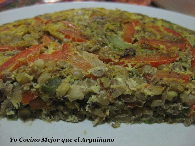 Cocinar Lentejas Arguiñano | Yo Cocino Mejor Que El Arguinano Tortilla De Lentejas