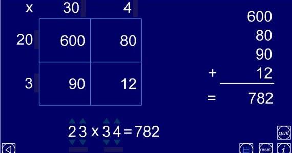 Multiplication Worksheets multiplication worksheets using grid – Multiplication Using the Grid Method Worksheets