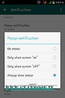 whatsapp widget lock screen pe set kare