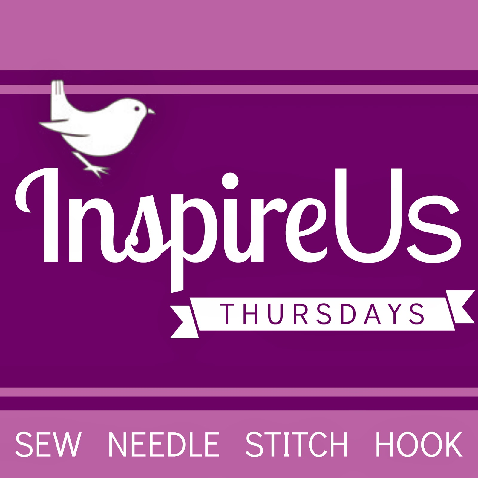 Inspire Us Thursdays: Sew Needle Stitch Hook, a new Link Party beginning April 3!   The Inspired Wren