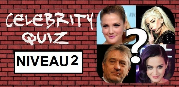 Celebrity quiz solution niveau 22