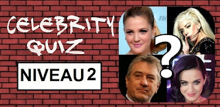Celebrity Quiz reponse niveau 2