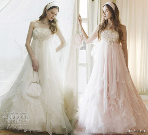 Romantic Wedding Dresses from Jill Stuart Bridal Collection ...