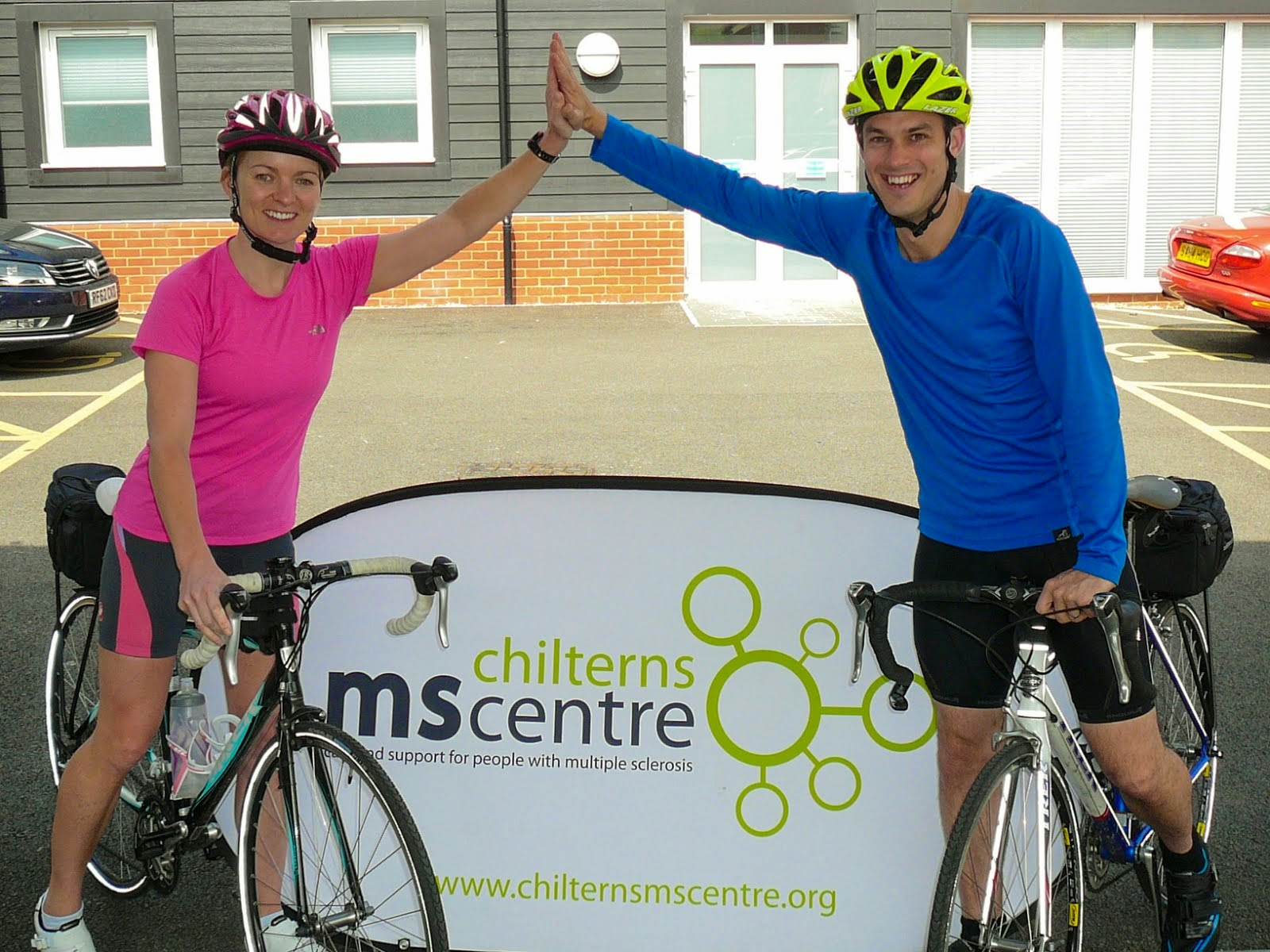 Raising money for the Chilterns MS Centre