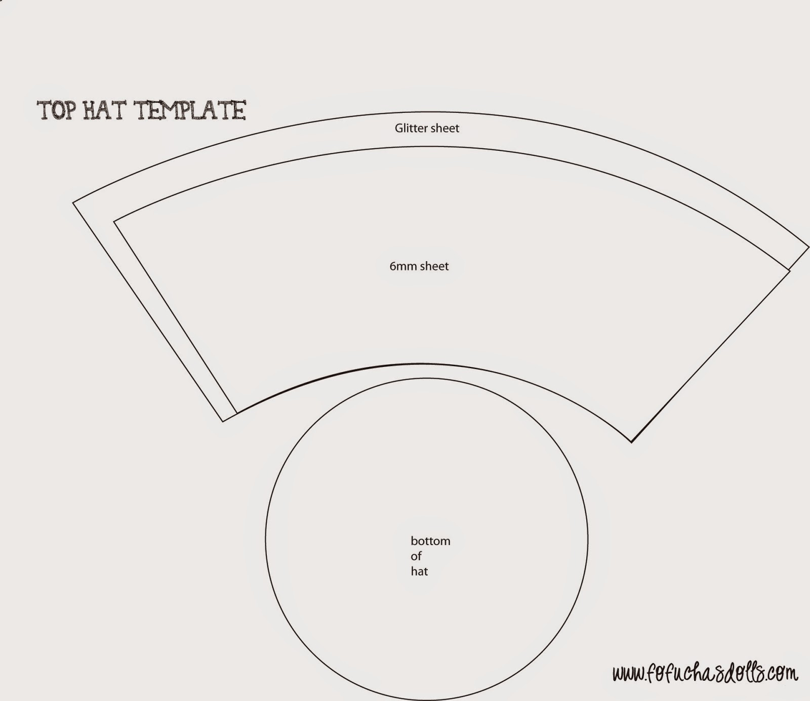 Top Hat Template Printable | galleryhip.com - The Hippest Galleries!