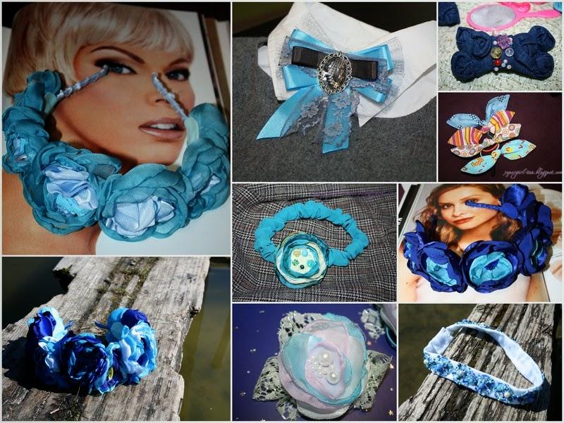 аксессуары Supergirl в сине-голубом