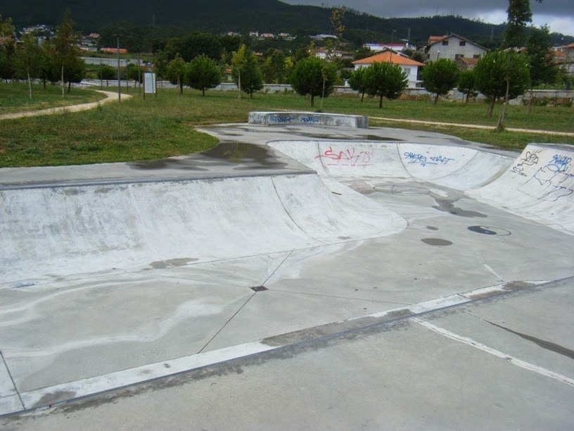 Skate Park no Parque da Cidade de Vale de Cambra