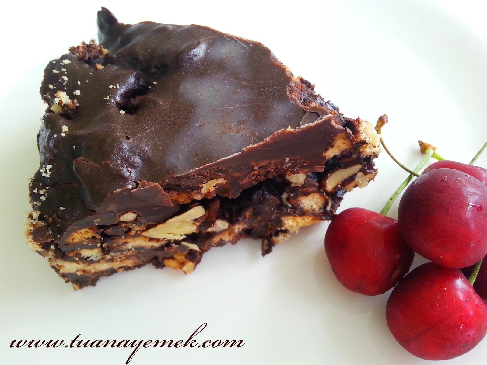 Pişmeyen Çikolatalı Tart Tarifi
