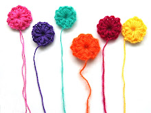 DIY little crochet flower