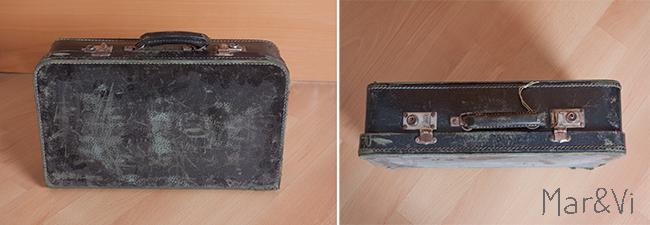 Renovar una maleta vieja con chalk paint