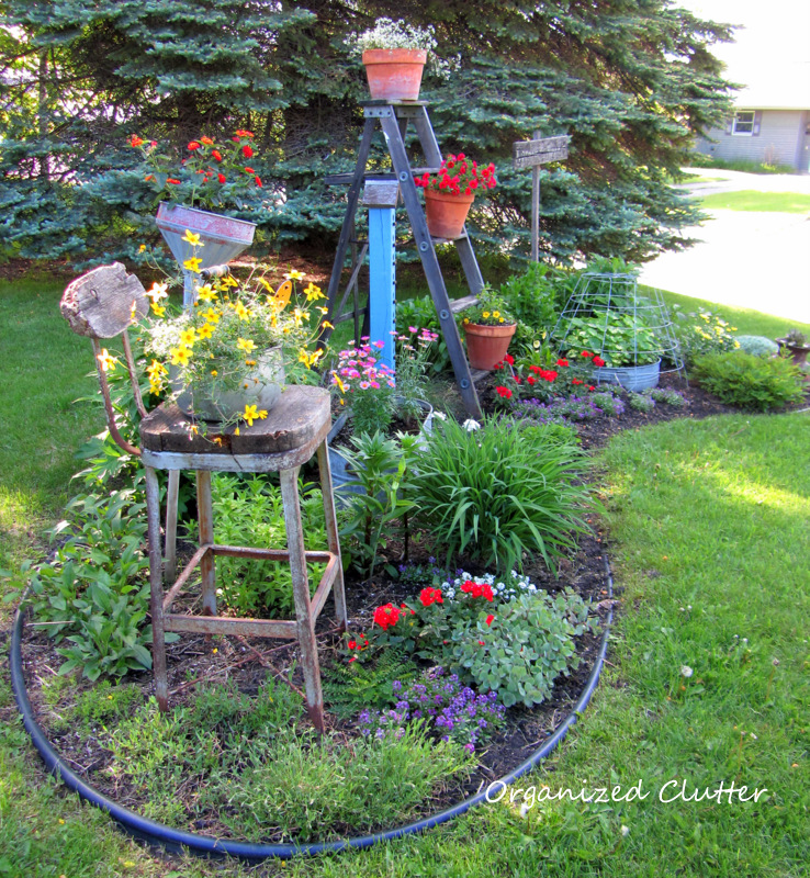 Front yard christmas decorating ideas - Here Is My Newly Planted Front Yard Flower Border On May 25th If You