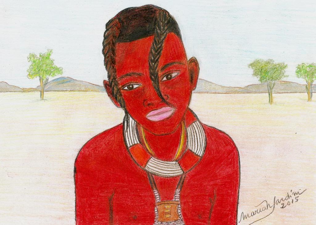 "Desenhos de MariaNJardim: ""Himbas by me"""