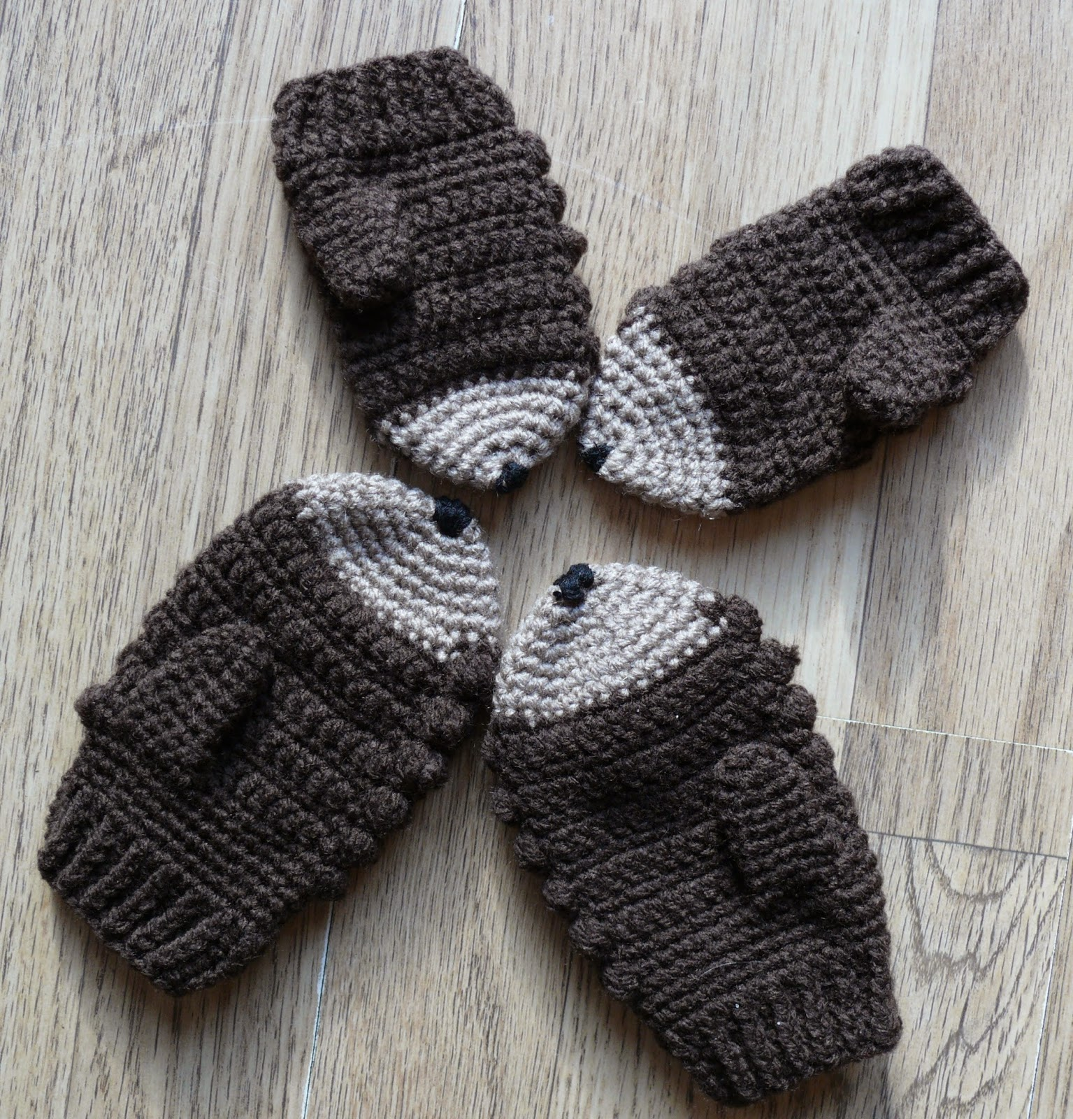 Knitting Pattern Hedgehog Mittens : Hedgehog Mittens For Sale images
