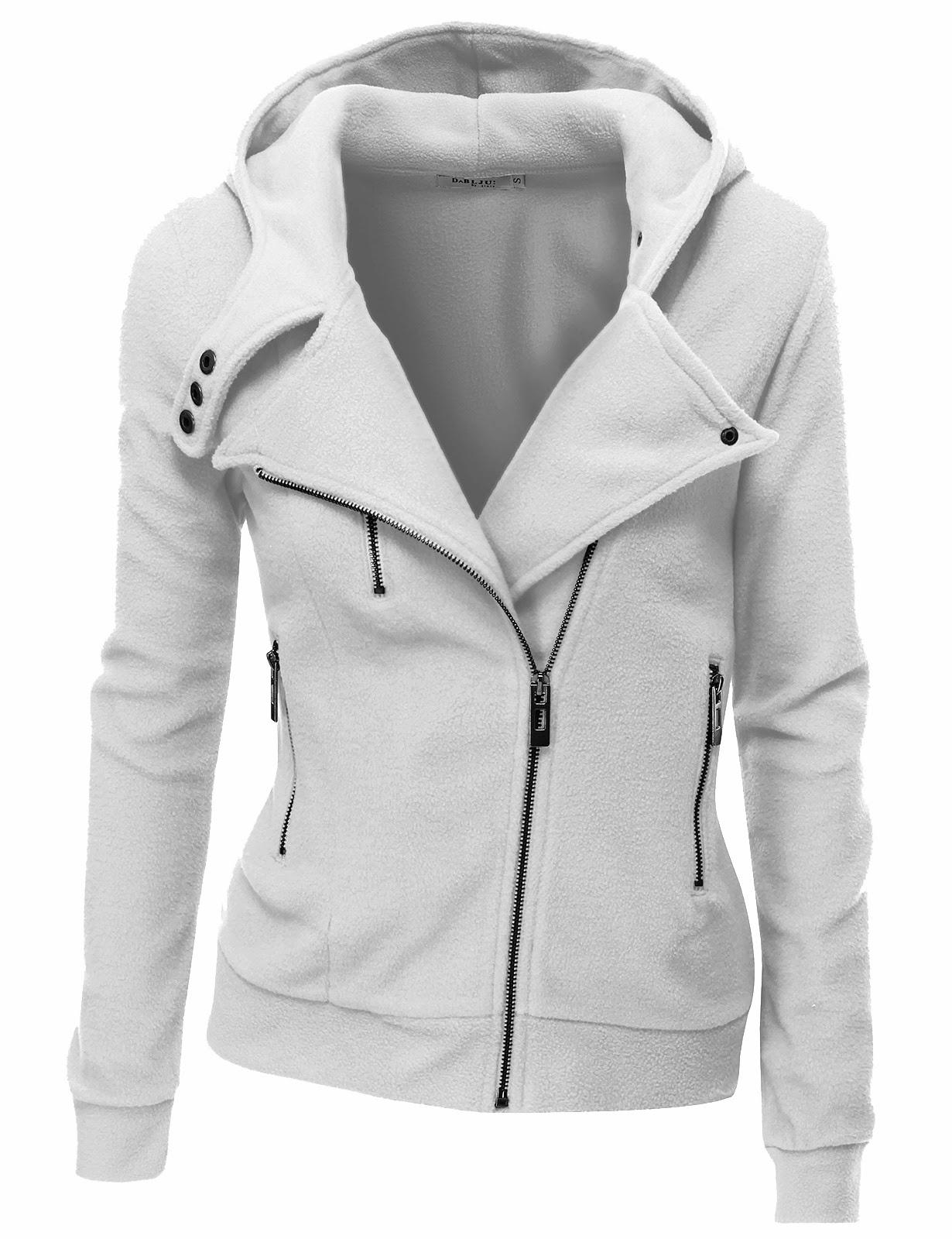 Zip up Hoodies For Women Womens Fleece Zip-up Hoodie
